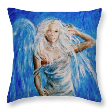 Viva Forever Throw Pillow