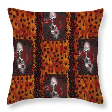 Viva La Revolution Throw Pillow by Pepita Selles