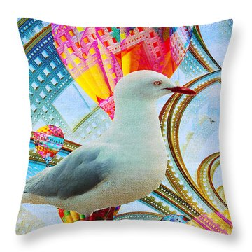 Throw Pillow featuring the photograph Vivid As A Dream by Chris Armytage