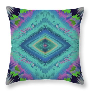 Throw Pillow featuring the photograph Exponential Flare 2 by Colleen Taylor