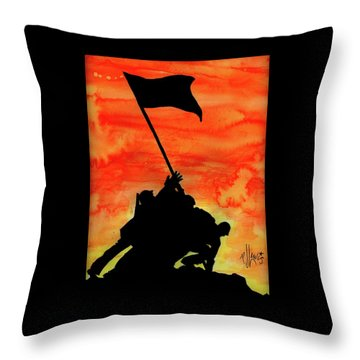 Vj Day Throw Pillow