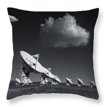 VLA Throw Pillow by Carolyn Dalessandro