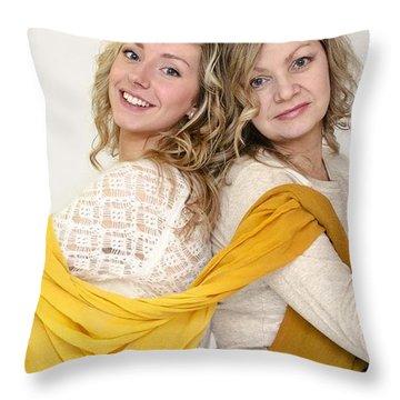 Vlada Olena Throw Pillow