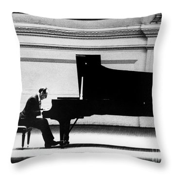 Vladimir Horowitz Throw Pillow