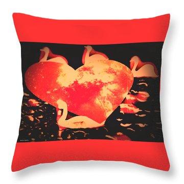 Vltava River-prague  Throw Pillow by Svetlana Zabelina