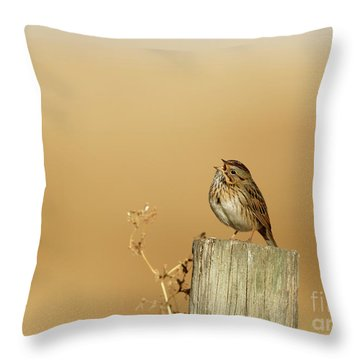 Vocal One Throw Pillow