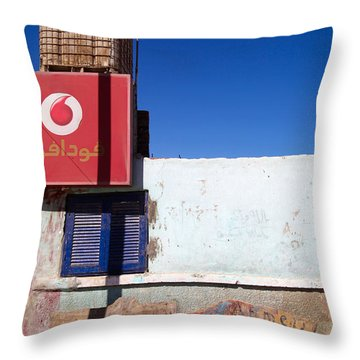 Throw Pillow featuring the photograph Vodalag by Jez C Self