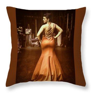Vogue Reds Throw Pillow