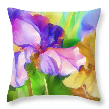 Voices Of Spring Throw Pillow