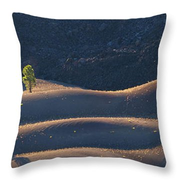 Throw Pillow featuring the photograph Volcanic by Dustin LeFevre