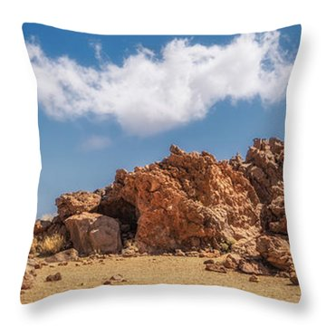Volcanic Rocks Throw Pillow
