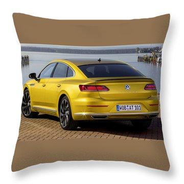 Volkswagen Arteon Throw Pillow