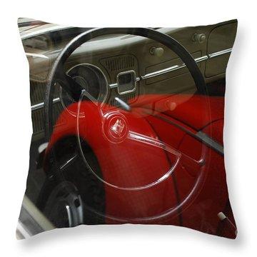 Volkswagen Beetle /20/ Throw Pillow