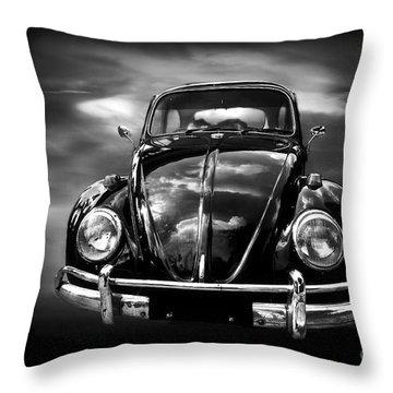 Volkswagen Throw Pillow by Charuhas Images