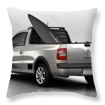 Volkswagen Saveiro Throw Pillow