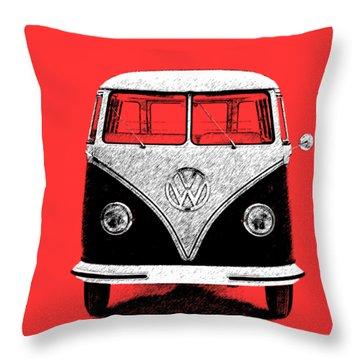 Volkswagen T1 1963 Throw Pillow