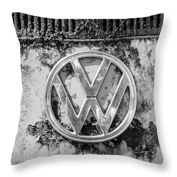 Volkwagen Sign Throw Pillow
