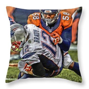 Von Miller Throw Pillows