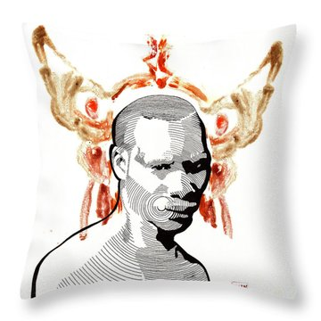Voodoo Chile Throw Pillow