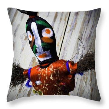 Voodoo Magic Throw Pillow