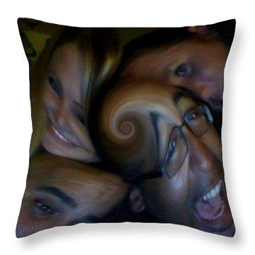 Vortex... Throw Pillow