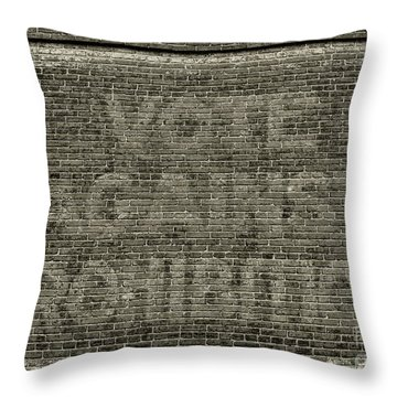 Vote Against Prohibition 1 Throw Pillow by Paul Ward