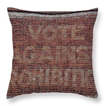 Vote Against Prohibition 2 Throw Pillow by Paul Ward