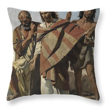 Vox Dei Throw Pillow