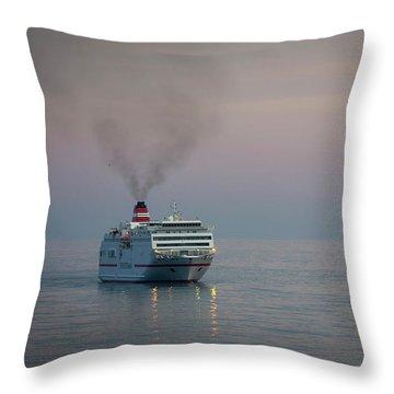 Voyage Home 1 Throw Pillow