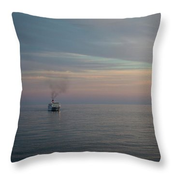 Voyage Home 2 Throw Pillow
