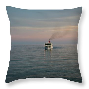 Voyage Home 4 Throw Pillow