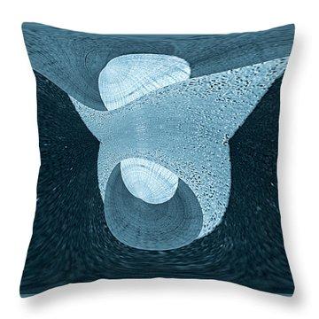 Voyage Series 1 / Breaking Throw Pillow