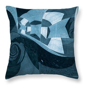Voyage Series 1 / Encounter Throw Pillow