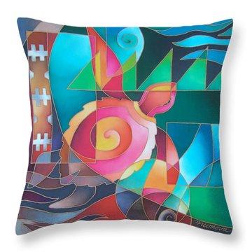 Voyager Pasifika Throw Pillow