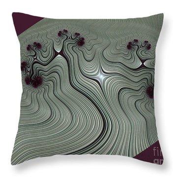Vrksasana Throw Pillow