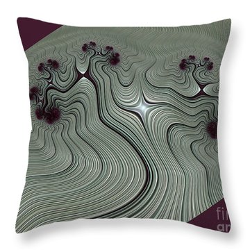 Vrksasana Throw Pillow