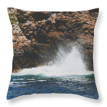 Vscosplash Throw Pillow by Nikki McInnes