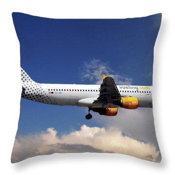Airbus Throw Pillows