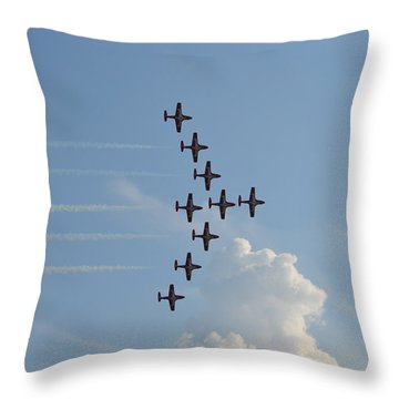 Vulcan Formation Throw Pillow