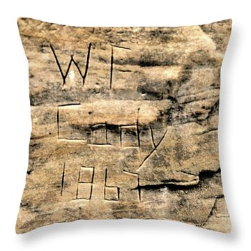 W F Cody Throw Pillow by Jon Burch Photography