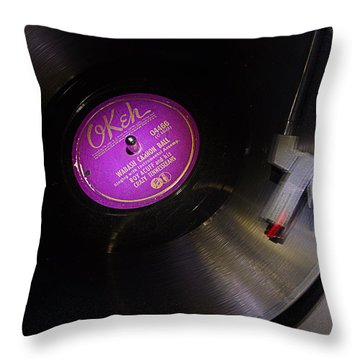 Wabash Cannon Ball Throw Pillow by Jim Mathis