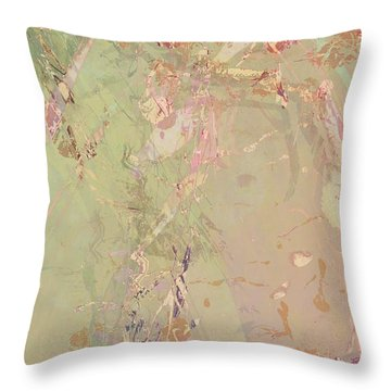 Wabi Sabi Ikebana Romantic Fall Throw Pillow