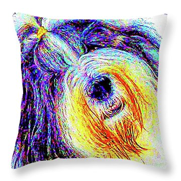 Wade Throw Pillow by Alene Sirott-Cope