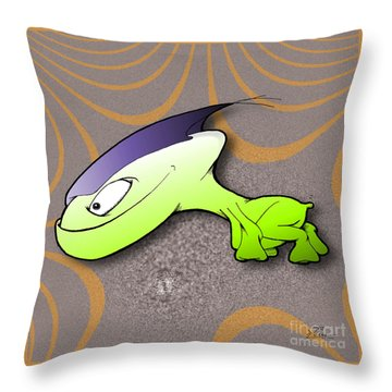 Waggah Throw Pillow