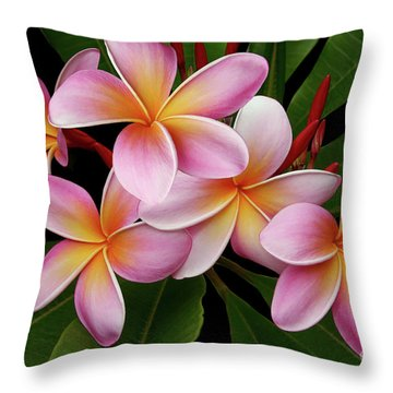 Wailua Sweet Love Texture Throw Pillow