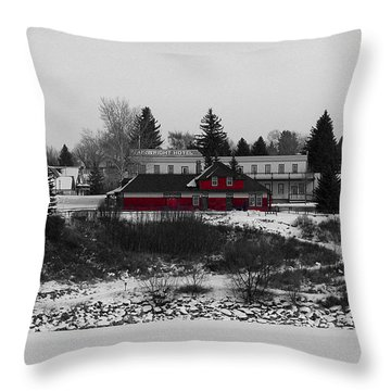 Throw Pillow featuring the photograph Heritage Park by Stuart Turnbull