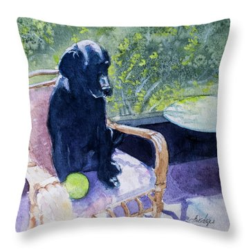 Wait 1 Hour Before Swimming Throw Pillow