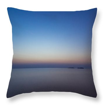 Waiting For A New Day Throw Pillow