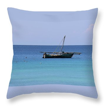 Waiting For Adventure Throw Pillow