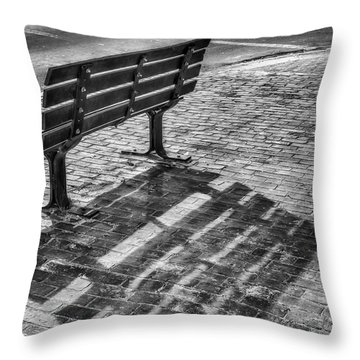 Throw Pillow featuring the photograph Waiting For Proposal by Richard Bean
